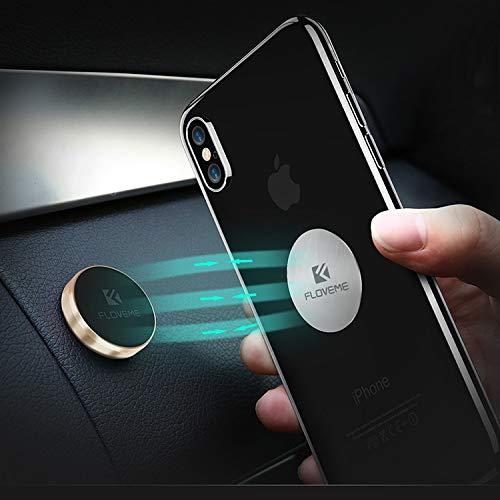 FLOVEME Magnethalter Universal Handyhalterung für jeden Innenraum Typ KFZ/Auto/Wohnmobil/LKW/Wand-Halterung/Navigationsgeräte/Mobile-Phone
