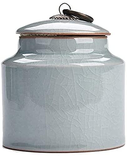 SLZFLSSHPK urne Urnen für die Einäscherung von Asche Menschliche Asche für die Einäscherung von Erwachsenen Kindern oder Haustieren Urnen für Bestattungsurnen zu Hause Keramik