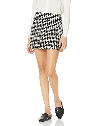 Norma Kamali Women's Skirt, Large Check, M/34