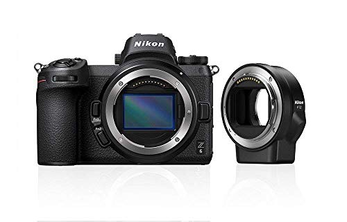 Nikon Z6 digitale systeemcamera + FTZ-adapter + 64GB XQD