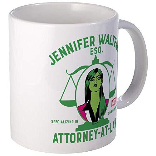 N\A Taza de café única de She Hulk Attorney At Law Mugs, Taza de café