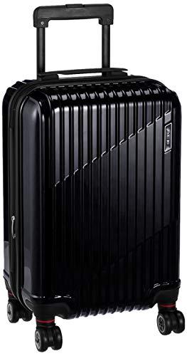 [エース] スーツケース クレスタ 機内持ち込み可 エキスパンド機能付 39L(拡張時) 48 cm 3.2kg ブラック
