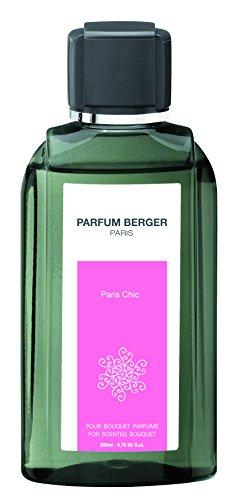 Parfum Berger 6034 Recharge pour Bouquet Parfum Paris Chic Transparent 200 ml