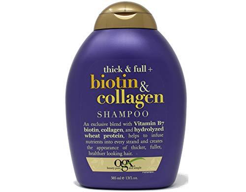Ogx Shampoo Biotin & Collagen 13 Ounce (384ml) (3...