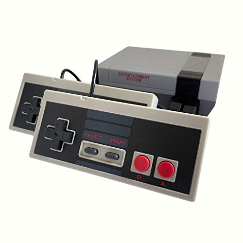 Classic Mini Retro Video Game Console with Preloaded 620 Games & 2 Controllers, Old School Video...