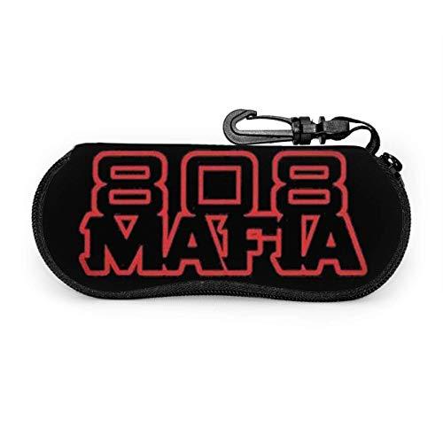 HHJJI 808 Mafia Sonnenbrille Soft CaseUltra Light Neopren Reißverschluss Brillenetui