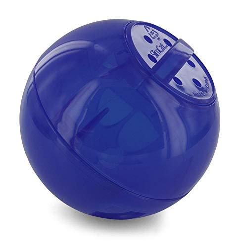 PetSafe - Jouet Distributeur de Croquettes pour Chat SlimCat, Jouet Interactif à Friandises – Faire de l'exercice en s'amusant et aide à perdre du poids – Bleu (vert, orange et rose disponible)
