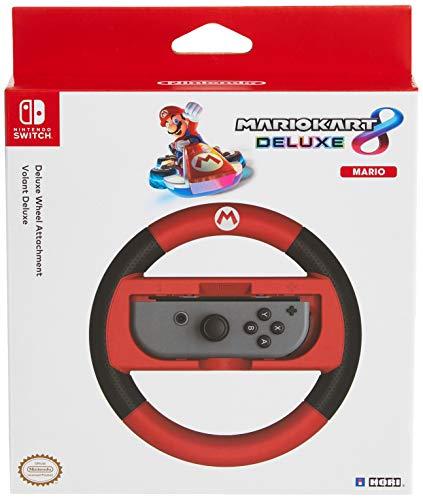 HORI Nintendo Switch Mario Kart 8 Deluxe Wheel (Mario Version) Officially Licensed By Nintendo - Nintendo Switch