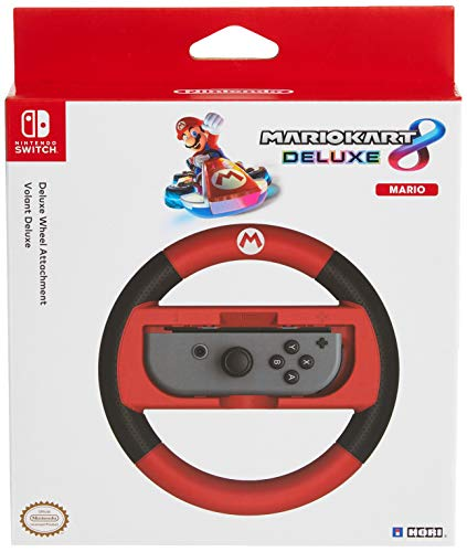 Hori Nintendo Switch Mario Kart 8 Deluxe Wheel Mario/Switch - Nintendo Switch