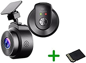 $105 Get Nano Dash Cam Car Recorder Camera Kit Pocket-Sized | Wi-Fi connectivity | Full HD 1080p Resolution with Sony Exmor Image Sensor | 16GB SD Card Included | #RSC-Nano-B