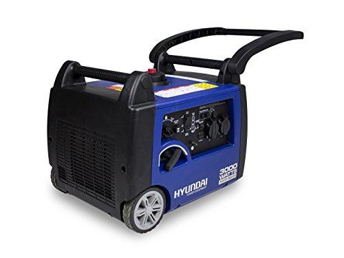Hyundai HG4000I-A Groupe electrogene inverter 3000w, Bleu