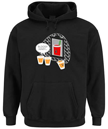 Certified Freak Bloody Cocktail Hooded Sweater Black
