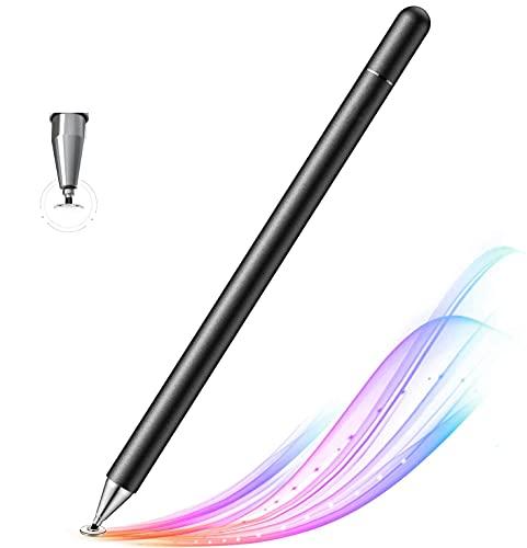 Lápiz para Pantalla Táctil,3 en 1 Puntero Tablet Stylus con Punta de Disco de Alta Precisión,Suave sin Demora,No es Necesario Cargar,para Todos iOS & Android Pantalla Táctil