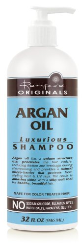 RENPURE Originals Argan Oil Luxurious Shampoo, 32 Ounce