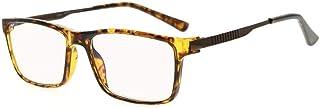 Eyekepper Lunette de lecture/de vue bifocal Multi-focus Progressives 3 niveau Vision verres ambres blocage lumiere bleue (...