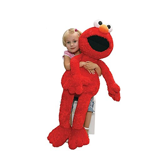 Gund Sesame Street Jumbo Elmo Stuffed Animal, 41 inches