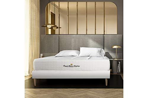 Materasso Windsor 180 x 200 cm, Spessore : 26 cm, Memory foam e molle insacchettate, Bilanciato, 5 zone di comfort