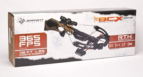 BARNETT BCX Buck Commander Extreme CRT Crossbow Package