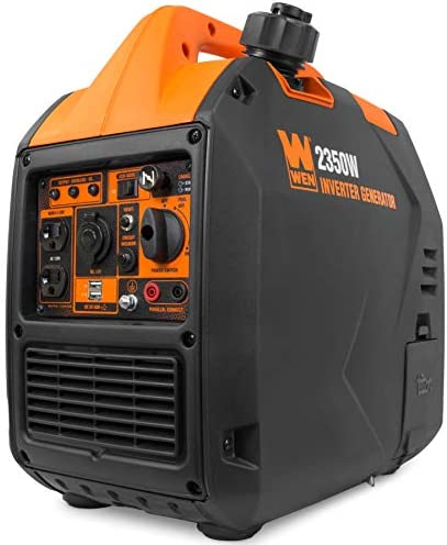 WEN 56235i Super Quiet 2350 Watt Portable Inverter Generator with Fuel Shut Off CARB Compliant product image