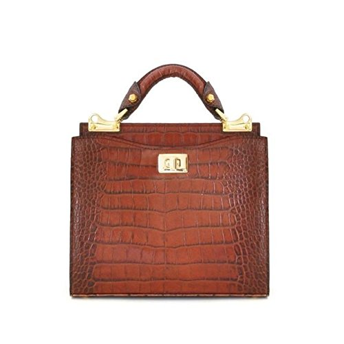 Pratesi Anna Maria Luisa de' Medici kleine Tasche - K150/26 King (Cognac)