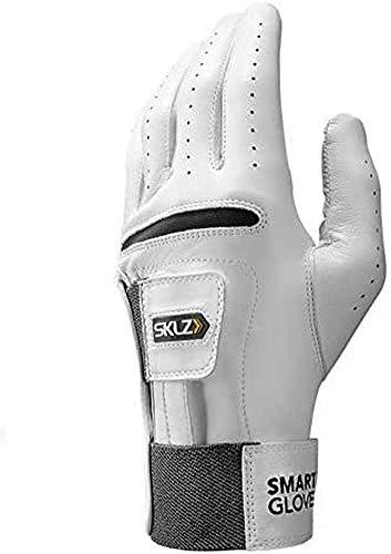 SKLZ Men's Smart Glove Left Hand Golf Glove, X-Large , White