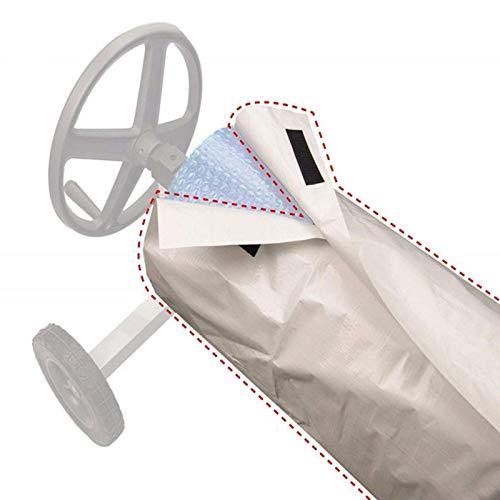 Cubierta Protectora De Carrete De Manta Solar Cubierta De Enrollador-Protector Solar Impermeable El Uso De Carrete De Piscina Puede Extender La Vida Útil De La Cubierta