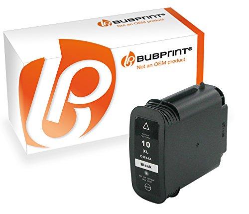 Bubprint Druckerpatrone kompatibel für HP 10 C4844AE für Business Inkjet 1000 1200 2800 DesignJet 100 110 Plus 500 70 800 PS deskjet 2000 C Schwarz