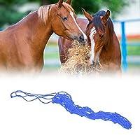 グラスネットバッグ20ストランドナイロンロープ馬用餌用品ペット用品(Blue medium)