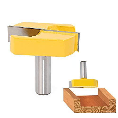 QPLKL Zimmerarbeiten 1pc Reinigung Bottom Fräser mit 12 mm Schaft 1/2