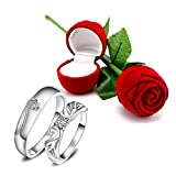 Best Valentine's Day Gifts For A Girlfriend - Peora Valentine's Day Gift Hamper of Couple Ring Review