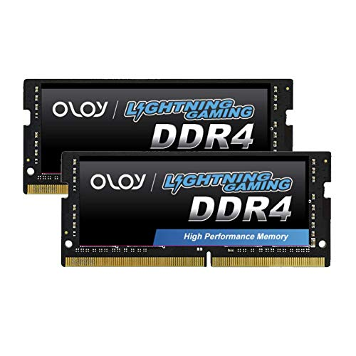 OLOy DDR4 RAM 32GB (2x16GB) 3200 MHz CL18 1.2V 260-Pin Laptop SODIMM for intel (MD4S1632180IZ0DH)