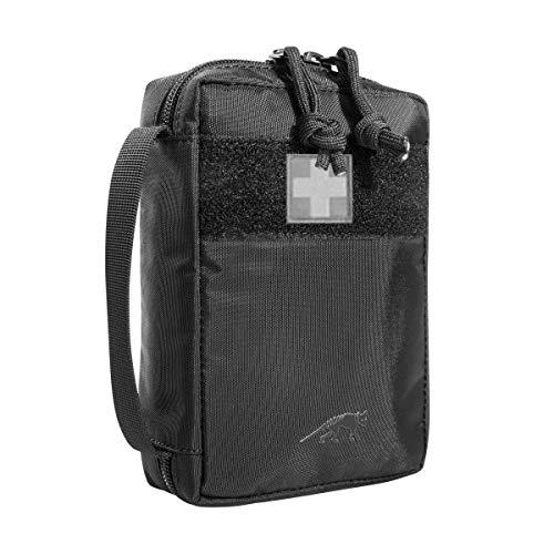 Tasmanian Tiger TT First Aid Basic - Set di primo soccorso, leggero, per viaggi e casa, ideale per escursioni, trekking, ciclismo, ufficio, nero