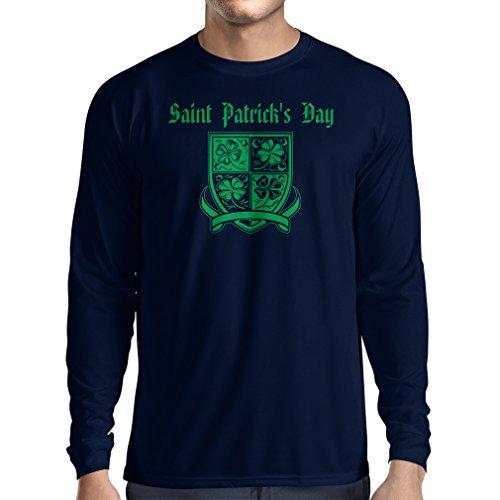 Camiseta de Manga Larga Saint Patrick's Day Shamrock Symbol - Irish Party Time