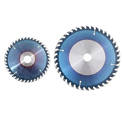YUNJINGCHENMAN Herramienta de la carpintería Cuchillas 1PC 6/7/8 Pulgada HSS Circular Hoja de Sierra 40T Azul Recubrimiento Tratamiento de la Madera de Corte Circular Sierra de Disco (Color : 8inch)