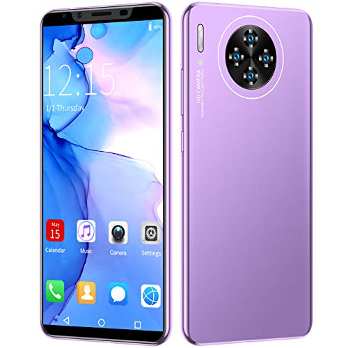 ZZYH Android 9.1 Smartphones, 4G Mobile Phone, 4GB RAM+64GB ROM, 5.8 Inch Screen, 8MP Front + 16MP Rear Camera, Face Recognition, with 64GB Memory Card