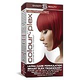 Smart Beauty Tinte de Pelo Permanente, Larga Duración Moda Color con Nutritivo Nio-Active Plex Tratamiento Capilar, 150ML - Hollywood Rojo, 150 Milliliters