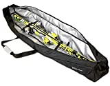 StoreYourBoard Ski Travel Bag, Waterproof Padded Carrier Holds Single Pair of Skis, Gloves, Jackets, and Accesories