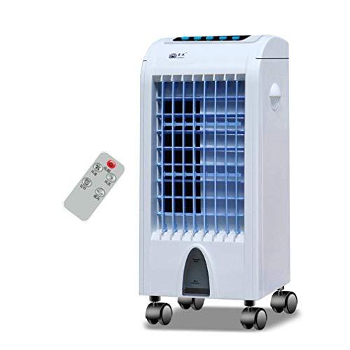 VENTILADORES DE ESCRITORIO Refrigerador de aire de control remoto, aire acondicionado refrigerado por agua, refrigerador silencioso y ahorro de energía, para uso en dormitorios y oficinas en el hogar