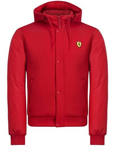 Branded Sports Merchandising B.V. Scuderia Ferrari F1 Men's Hooded Bomber Jacket Red (XL)