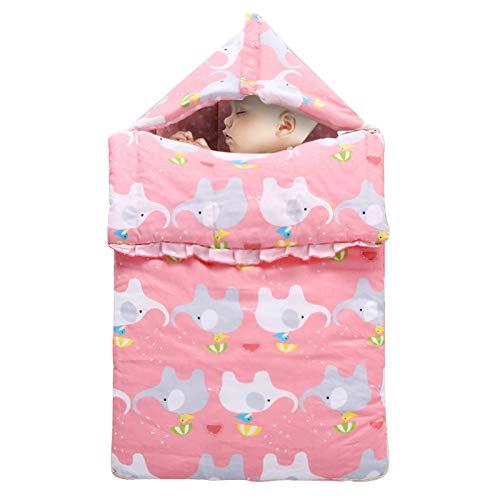 LUO'S Schlafsäcke Baby Kick-Beweis Quilt for den Herbst und Winter, neugeborenes Baby-Quilt, Growth-Art Schlafsack, aus Reiner Baumwolle warm zu halten for Unisex Baby
