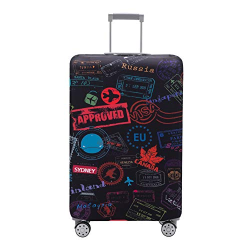 Travelkin Luggage Cover Washable Suitcase Protector Anti-scratch Suitcase cover Fits 18-32 Inch Luggage (S)