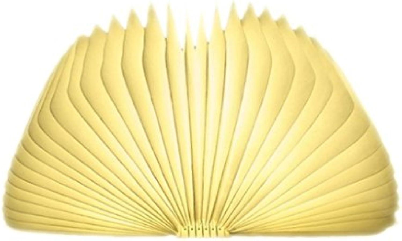 Modern Creative Falten Buch Licht Ambiente Licht Nacht Light Book Form Nacht Licht Senden Freund Freundin Falten Leuchte Nachttisch Lampe (Farbe  Warmes Licht)
