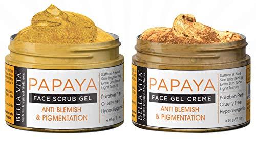 Papaya Gesichtspeeling & Papaya Gesichtscreme Combo