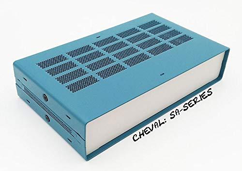 Hi-grade Aluminum Flexible Project Box Enclosure Case Electronic DIY 65 x 178 x 305 mm. (SACN1.5D1W2)
