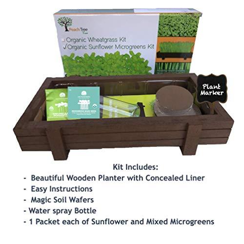 Wooden Countertop Planter