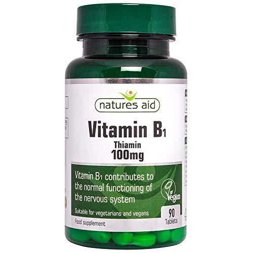 Vitamin B1 Thiamin Hydrochloride 100mg 90 Tabs