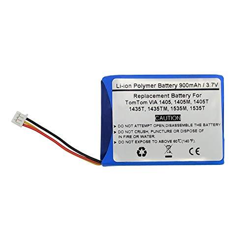 %39 OFF! 900mAh Battery for Tomtom VIA 135,135M,1405,1405M,1405T,1435,1435T,1435TM,1535,1535, Tomtom...