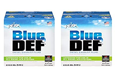 BlueDEF DEF002 Diesel Exhaust Fluid - 2.5 Gallon Jug (Pack of 2)