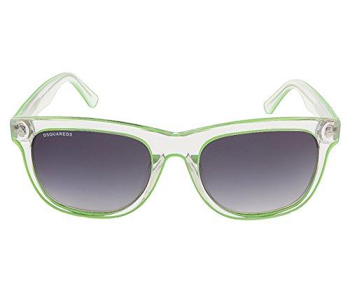 DSQUARED2 D Squared Gafas de Sol DQ0174-27C-56 (56 mm) Transparente/Verde