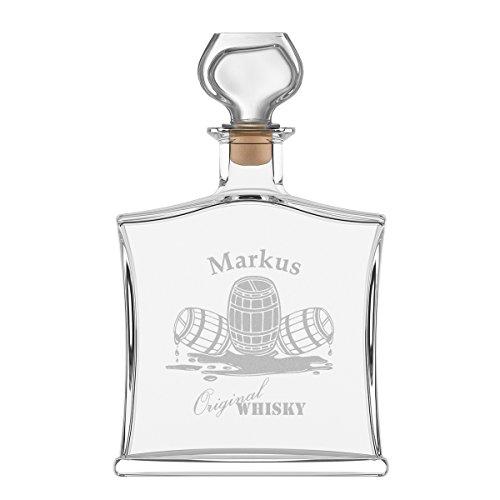 puede botella de whisky (Incluye grabado–Diseño–Whisky Barril